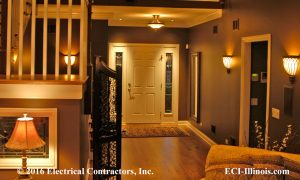 Residential Entryway Lighting 01