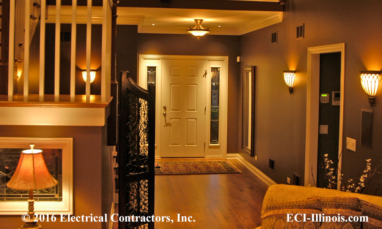 Residential Foyer Lighting : Custom homes subdivisions communities electrical work