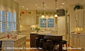 Residential Kitchen Lighting 02