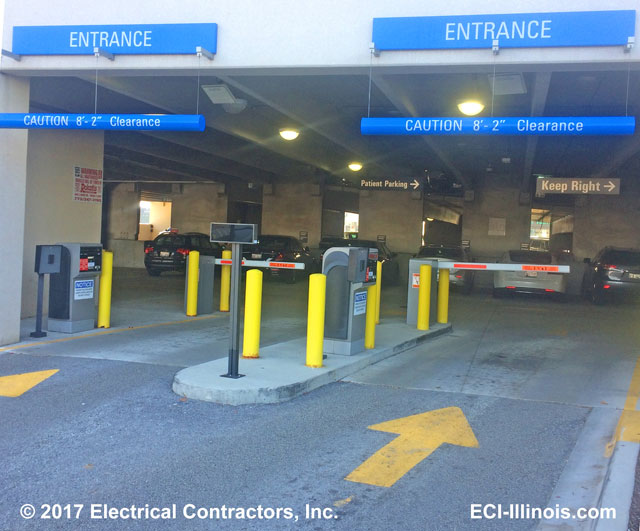 Garage Vehicle Parking and Access Control System