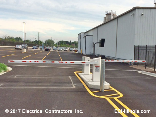 Barrier gate set by eci illinois