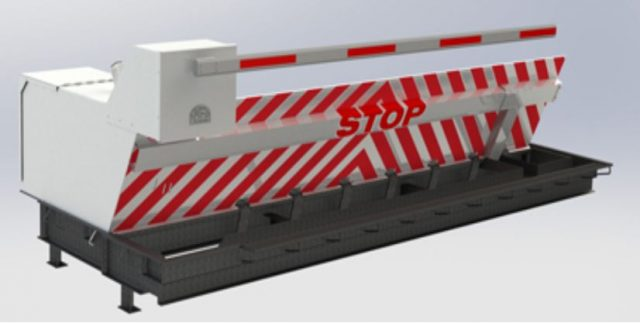 Nasatka Steel Plate Wedge Barrier
