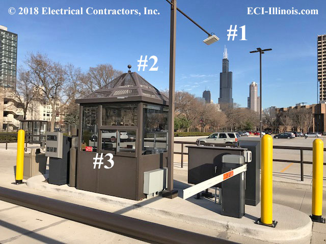Special Features at UIC Parking and Revenue Control System