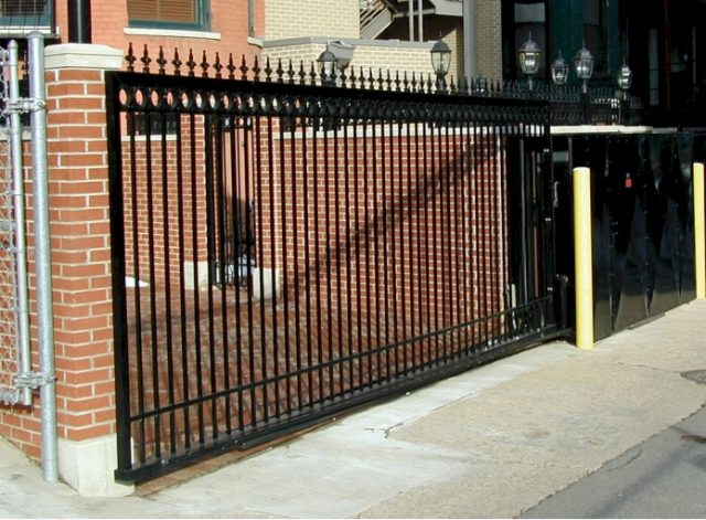 Vertical Pivot Gate by B&B Armr