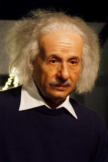 Albert Einstein in Wax