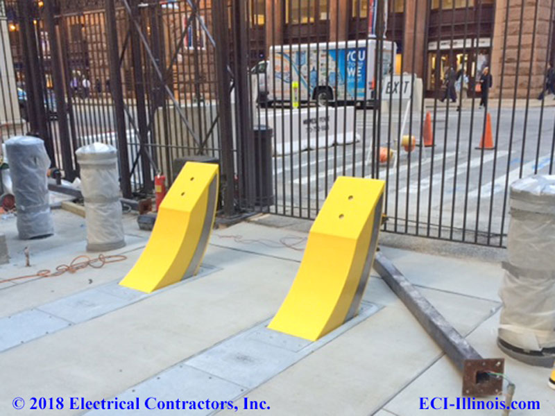 Raptor Bollards at Federal Reserve Chicago