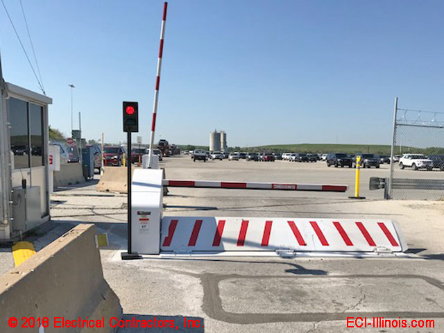 Wedge Barrier Fully Extended