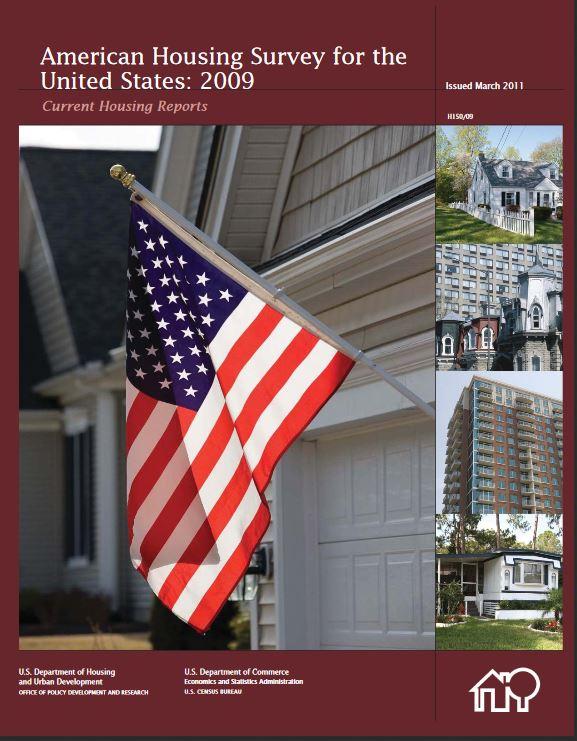 2009 US Census American Housing Survey