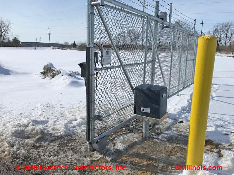 Slide Gate Operator - DeKalb IL