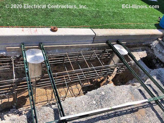 Crash Rated Bollard Excavation - Chicago Day School