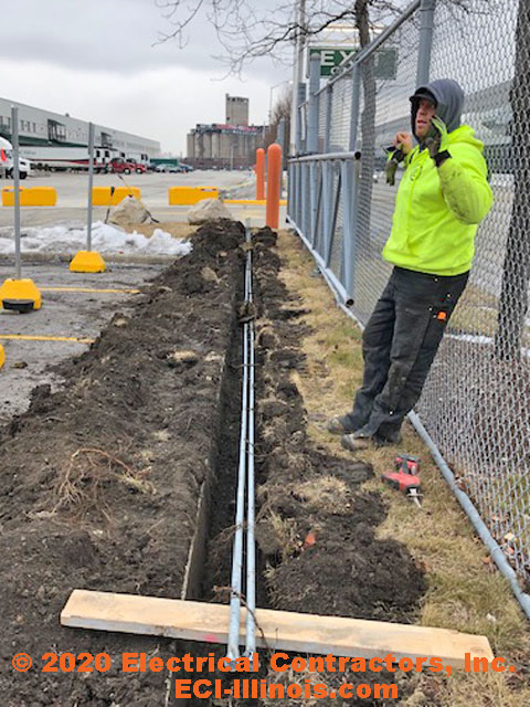 Trenching and Electrical Conduit in Chicago