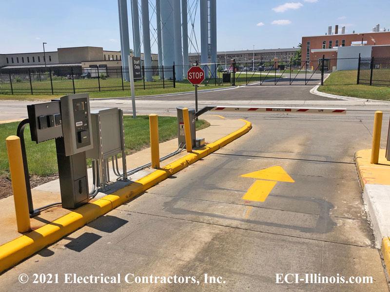 Loyola Access Control Devices Lot Deck B Exit